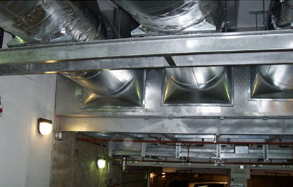 forced air ventilation systems